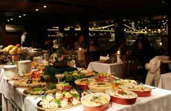 Budapest NYE Dinner Cruise Menu
