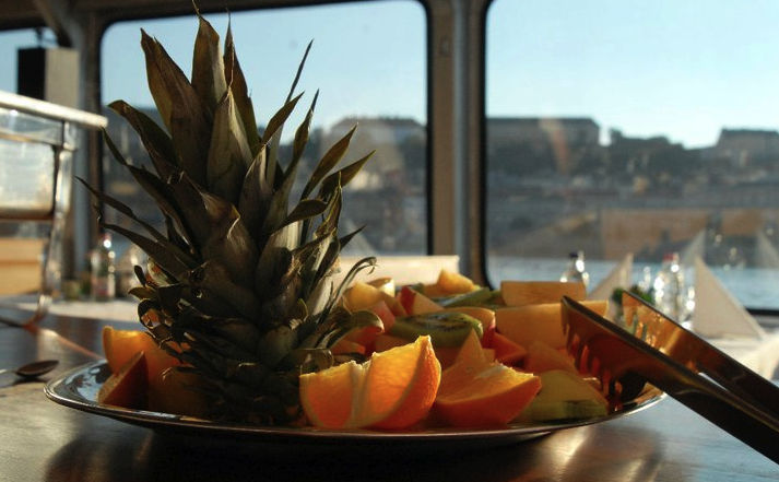 Fruits on the Budapest boat tours