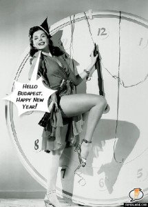 Happy New Year Budapest (Ann Miller)