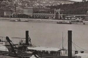 Historical Danube Budapest Photo 1882