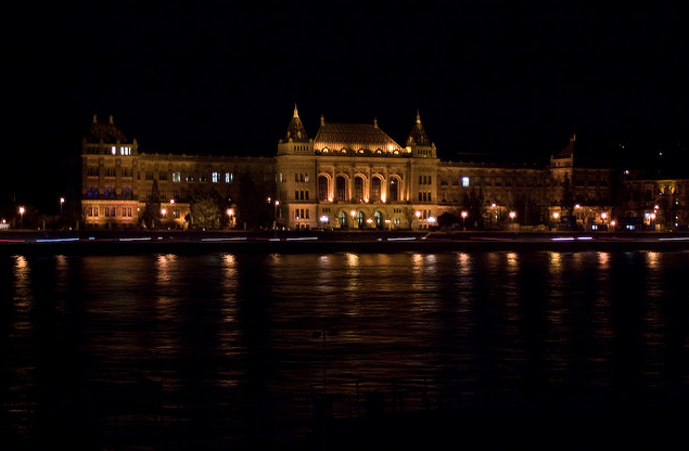 Night Cruise Budapest Technical University