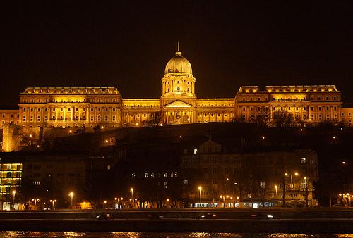Budapest Night Cruise Buda Castle