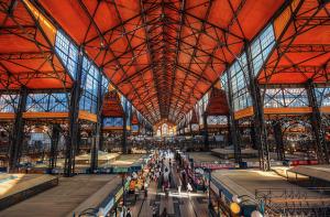 Budapest Danube sights: Market Hall