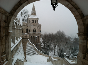 Fishermans Bastion Budapest Winter Cruise Sights