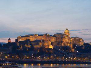 Budapest Buda Castle Sunset BRC
