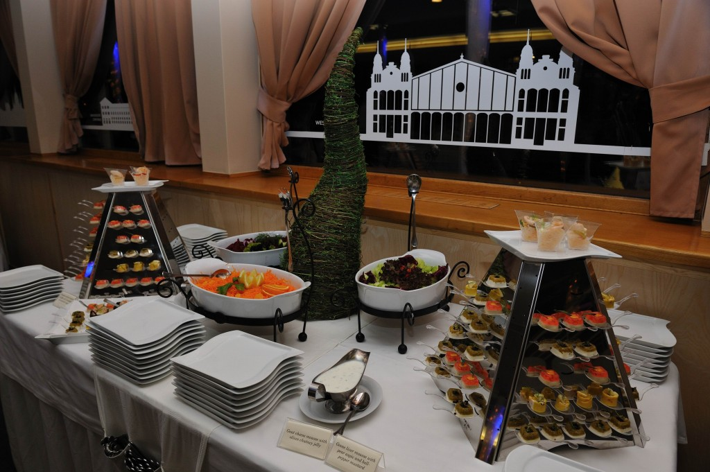 Buffet Style Finger Food Budapest Europa Ship