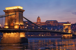 January Sunset Cruises Budapest