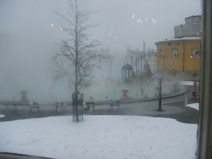 Winter Szechenyi Bath