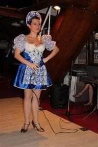 Dancer Singer Folk Dancer Show Budapest Opera and Operetta Cruise Gabrielle Muller