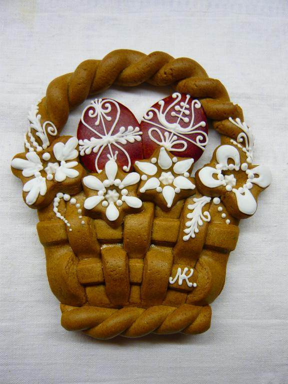 Hungarian Easter Egg Basket Gingerbread by Noe Kornelia Nelly