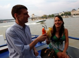 Cocktail Cruise on Danube Budapest Hungary