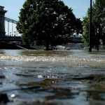 Budapest Danube Chain Bridge Flood BetaRobot