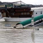 Budapest Danube Columbus Pub Ship under Flood Chad Briggs