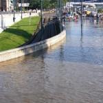 Budapest Danube River Flood Hatm