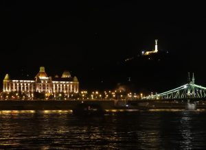 Budapest Gellert Hotel and Gellert Hill Night BRC