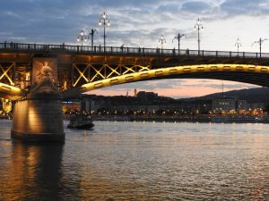 Budapest Margaret Bridge Night BRC