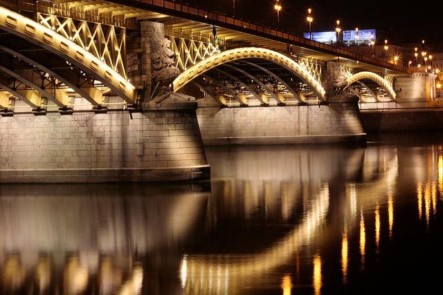 Budapest Margaret Bridge Night Cruise