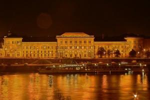 Budapest Night Cruise University of Economics