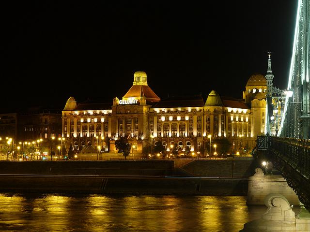 Hotel Gellert Budapest Night Cruise Sights