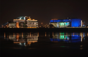 Palace of Arts & National Theater Budapest Night Cruises