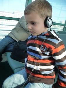 Children on Budapest Cruise on Danube