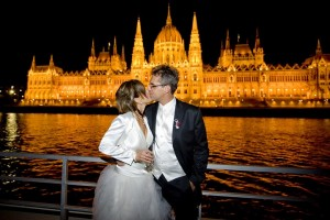 Beautiful Wedding on Zsofia Cruise Ship Budapest Danube