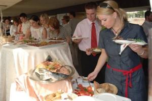 Buffet Style Dinner Zsofia Ship Budapest Cruise