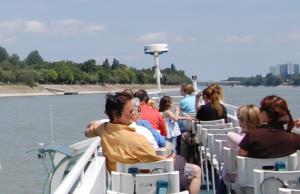 Duna Bella Upper Deck Cruise Budapest Margaret Island