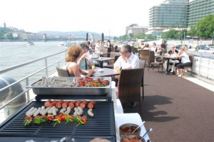 Fresh Grilled Bites Zsofia Ship Catering Budapest Danube Cruise