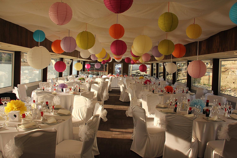 Dinner Party Wedding Part - 18: Fun Dinner Party Wedding Dinner On Zsofia Cruise Ship Budapest Danube