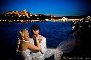 Getting married in Budapest Zsofia Cruise Ship Danube