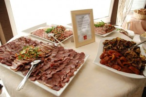 Hungarian Cold Cuts Zsofia Ship Catering Budapest Danube Cruise