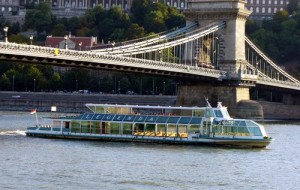 Legenda Boat Chain Bridge Budapest