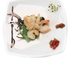 Shrimps Garlic White Wine Sauce Legenda Dinner Cruise