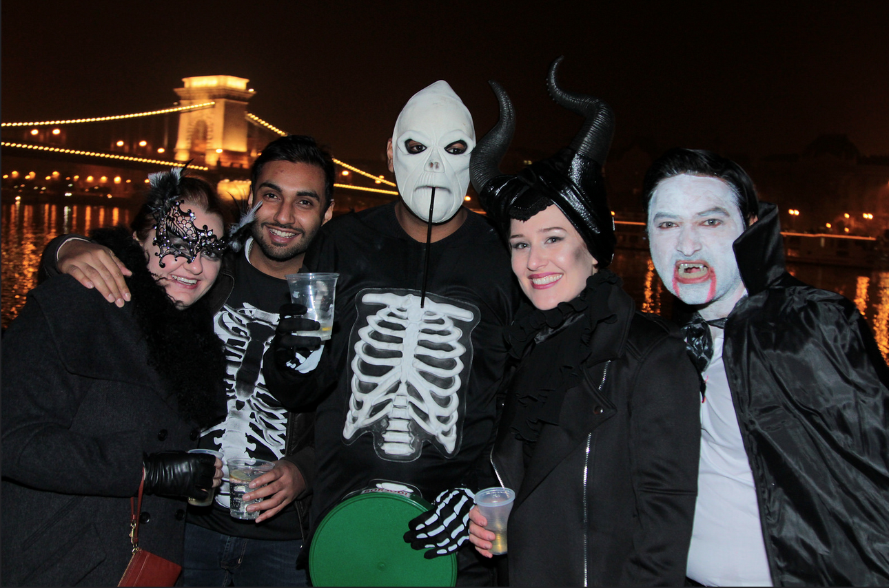 Halloween Party Boat Budapest Cruises