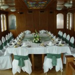 Wedding Dinner Table Pannonia Ship Budapest Private Cruise