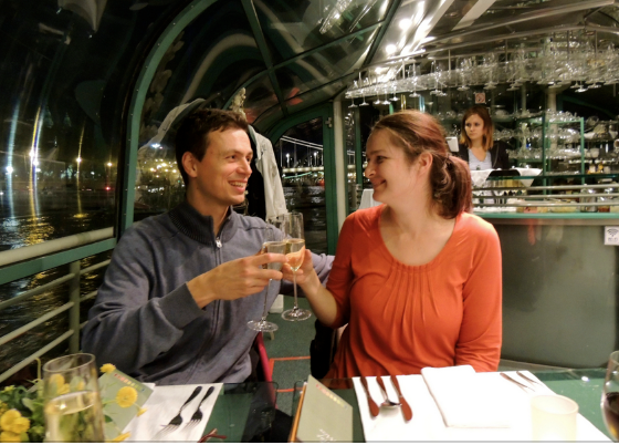 Valentine's day Dinner Cruise Budapest on Legenda Boat