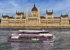 Nimrod Boat Dinner Cruise in Budapest