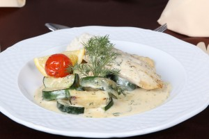Budapest Dinner Cruise - Cod Fillet