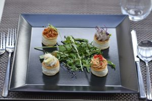 Appetisers on Budapest Cruise
