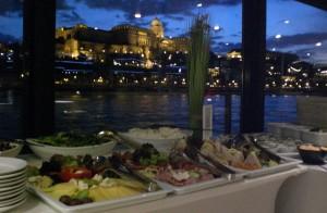 Buffet Dinner on NYE Cruise Budapest