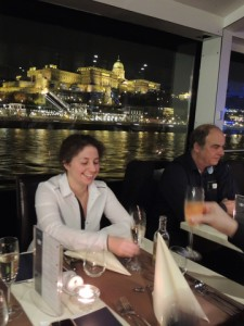 Buda Castle from Danube Dinner Cruise with Piano Music Budapest