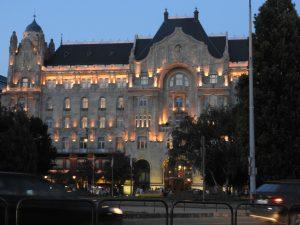 Budapest Gresham Palace Night BRC