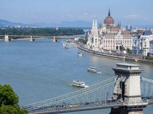 Budapest Margaret Island and Parliament BRC