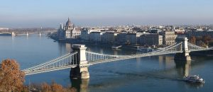 Chain Bridge Day Budapest River Attractions by Tim Adams