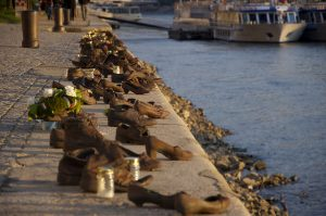 Shoes on the Danube by Chris Johnson