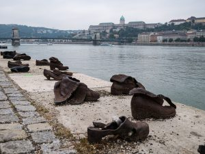 Shoes on the Danube - by Don DeBold