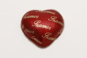 Heart Shaped Marzipans on Valentine's Day Cruise