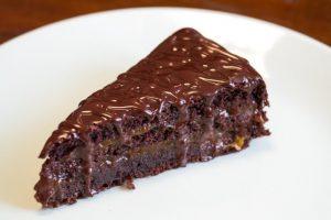 Chocolate Cake on Budapest Cruise