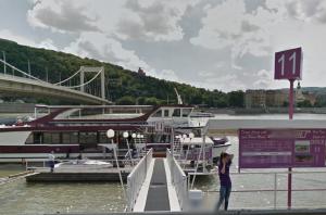 Dock by Elizabeth Bridge